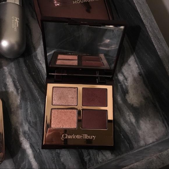Makeup Charlotte Tilbury Vintage Vamp Eyeshadow Quad Poshmark